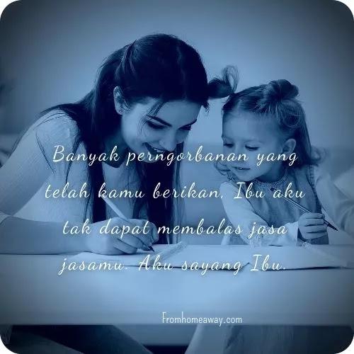 ucapan terimakasih untuk ibunda