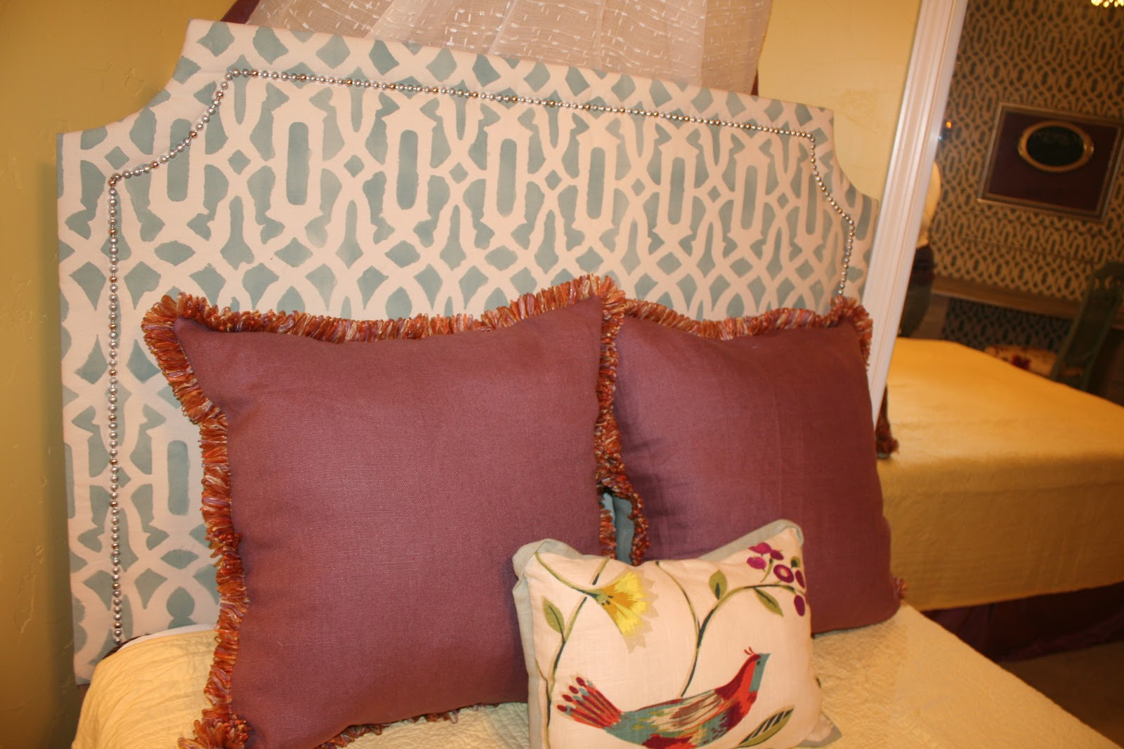 Treasured Rubbish: DIY Upholstered Headboard, with ...