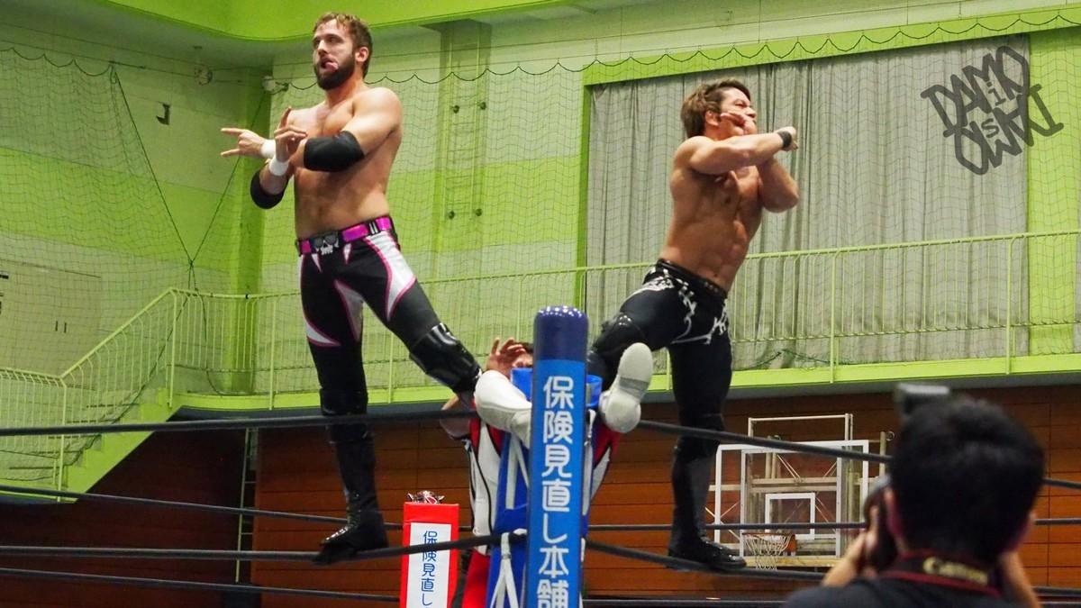 El Phantasmo e Taiji Ishimori conquistam o IWGP Junior Heavyweight Tag Team Championship