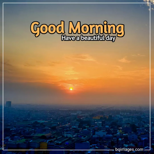 good morning wishes with sunrise pictures