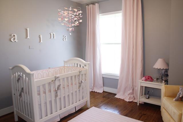 Shary S Photography Blog Alina S Pink And Gray Baby Nursery