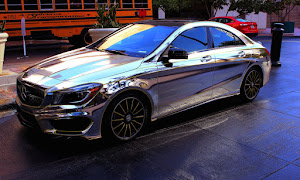 Car Chrome Mercedes Polish
