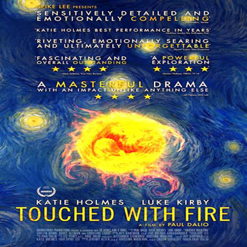 Touched With Fire Poster Film