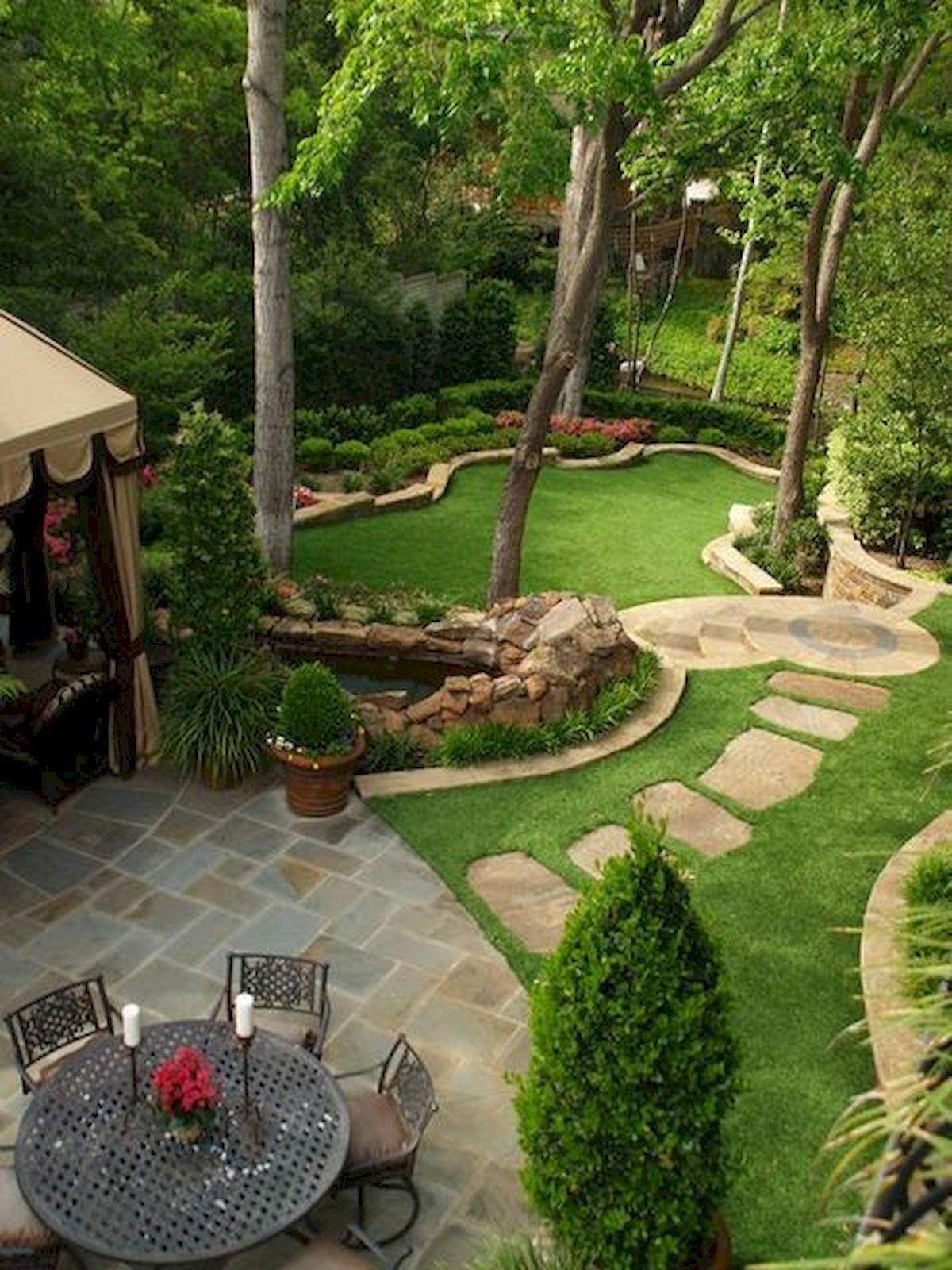 Best Fresh Backyard Landscaping Idea