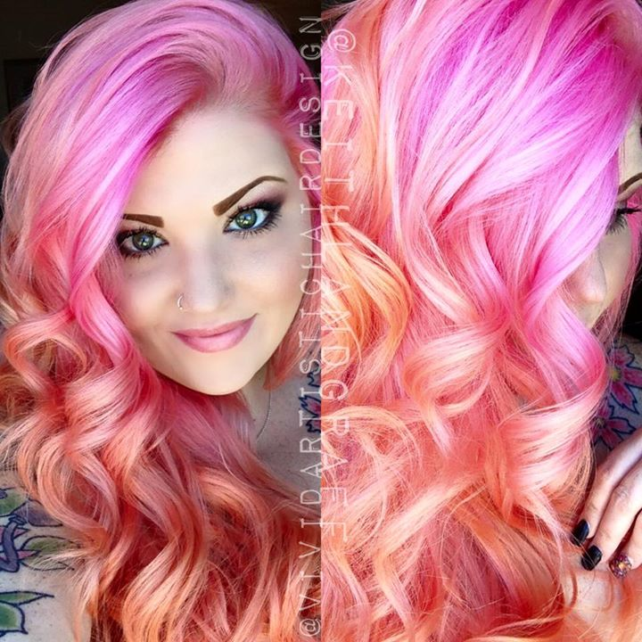 Gorgeous hairstyles and colors by Vivid Artistic Hair