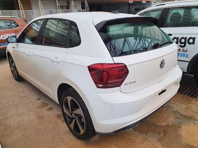 VW Polo GTS Branco (básico): a versão de R$ 99.470