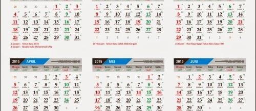 template kalender lengkap jawa & islam format coreldraw