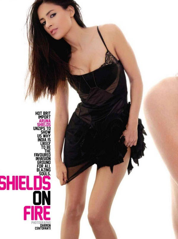 Bollywood Hot Actress Aruna Shields Latest Photoshoot