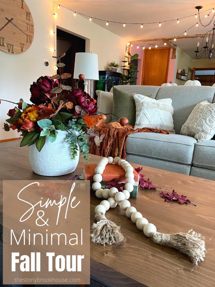 Simple & Minimal Fall Home Tour