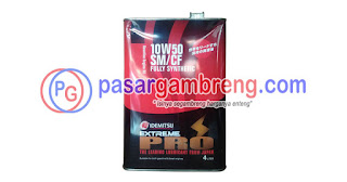 Oli mobil balap Idemitsu Extreme Pro 10W-50
