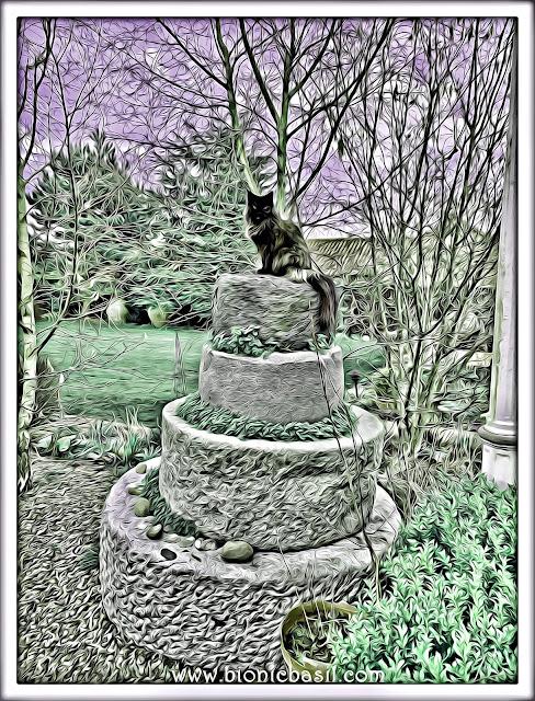 Pandora's Towering Selfie ©BionicBasil® Caturday Art