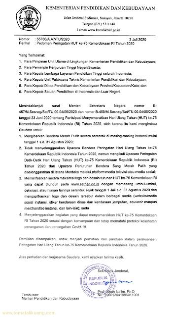 pedoman hut kemerdekaan ri ke-75 tahun 2020 pdf kemendikbud tomatalikuang.com.jpeg