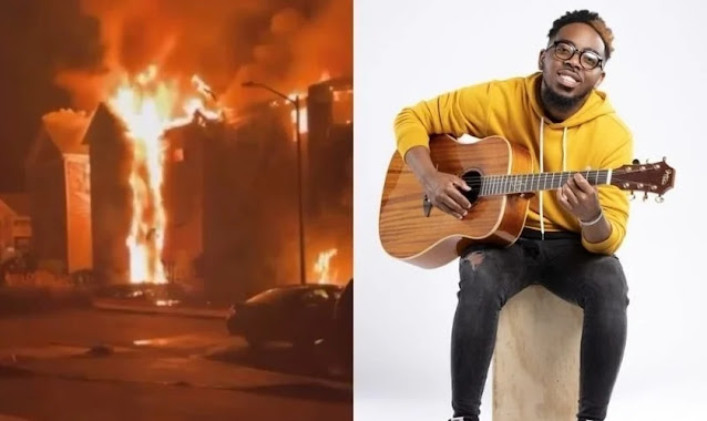 Cantor cristão escapa de incêndio que destruiu sua casa