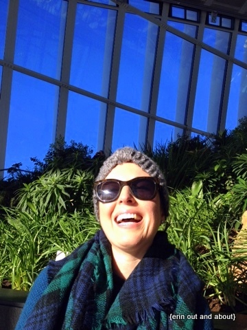 {Erin Out and About} Having a grand time at the Sky Garden