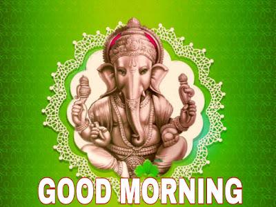 good morning images god vinayaka