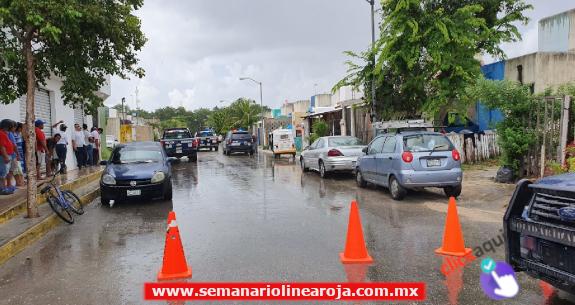 Atacan a balazos a Policía MInisteriales en Villas del Sol. Hay 3 detenidos