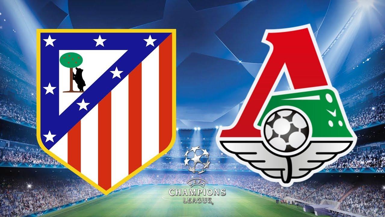 بث مباشر مباراة اتلتيكو مدريد ولوكوموتيف موسكو
