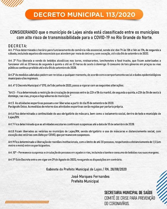 NOVO DECRETO MUNICIPAL TRAZ NOVAS REGULAMENTAÇÕES SOBRE A PRORROGAÇÃO E FLEXIBILIZAÇÃO, CONFIRA: