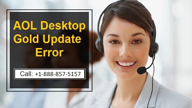 AOL Desktop Gold Update Error