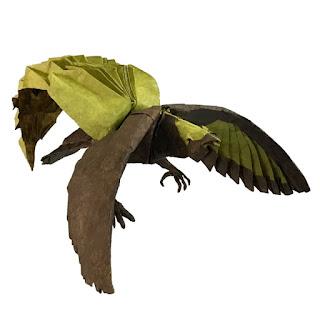 bird-of-paradise-origami