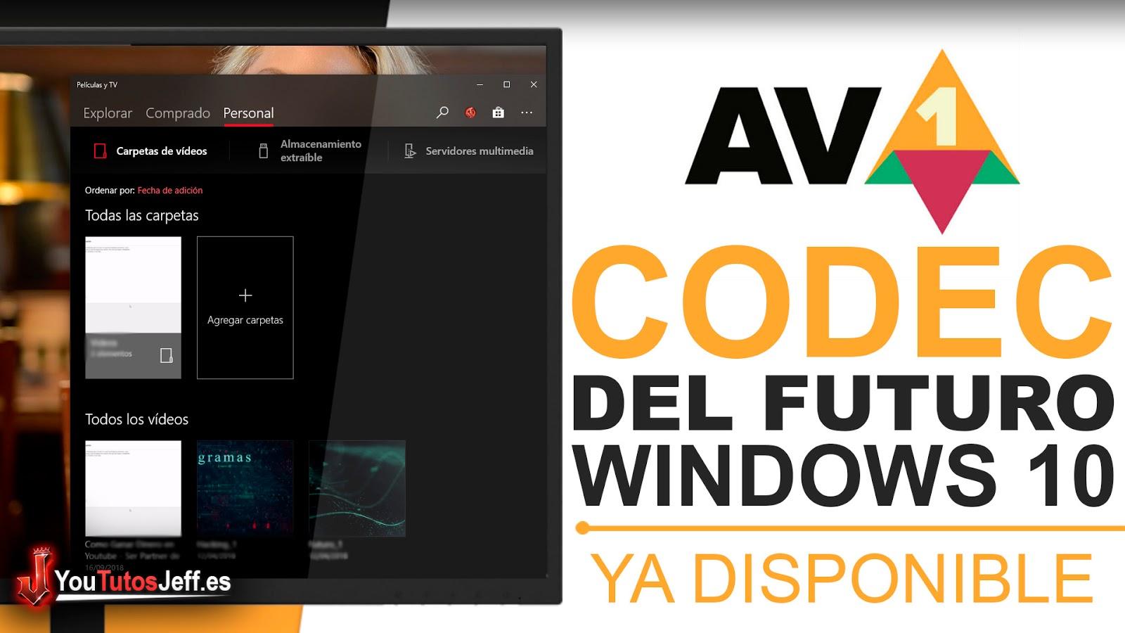 Descargar el Codec Mas Potente(AV1) para Windows 10 - Trucos Windows 10