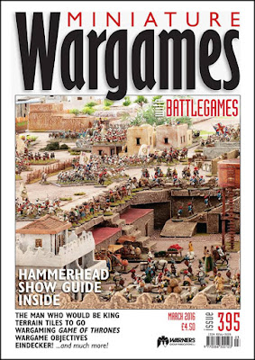 Miniature Wargames 395, March 2016