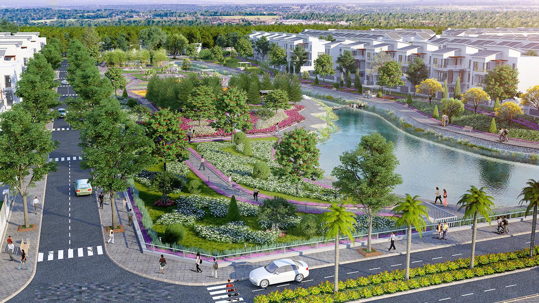 Hệ sinh thái xanh An Vượng Villa