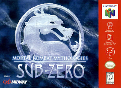 Review - Mortal Kombat Mythologies: Sub-Zero - Nintendo 64