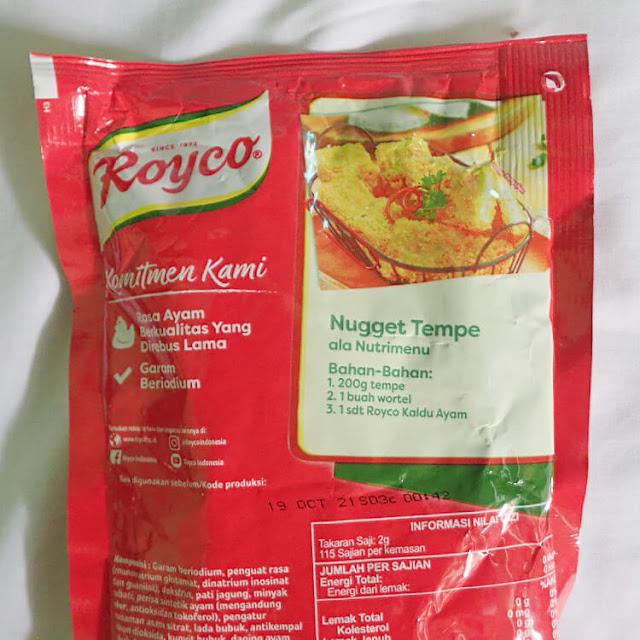 nugget tempe royco nutrimenu