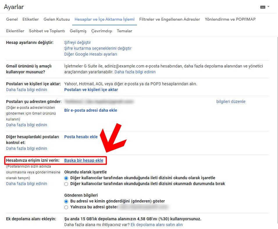 Gmail Hesap Ekleme - İki Gmail Hesabı Birleştirme