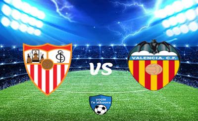 مشاهدة مباراة إشبيلية وفالنسيا بث مباشر اليوم 27-1-2021 في كأس ملك إسبانيا.