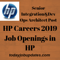 HP Careers 2019 Job Openings in HP