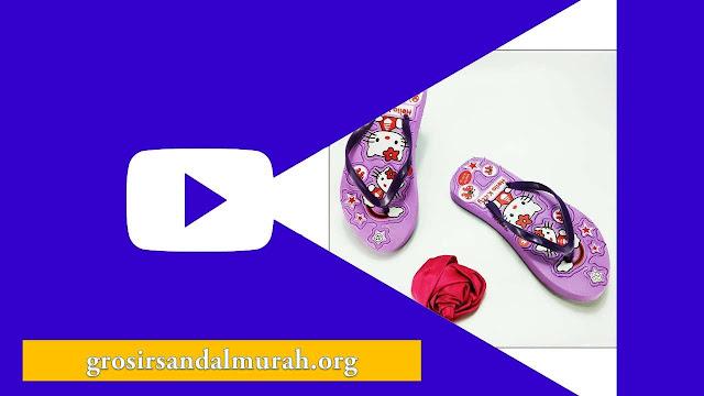 Grosirsandalmurah.org - Sandal Anak TG - Sablon HK TG