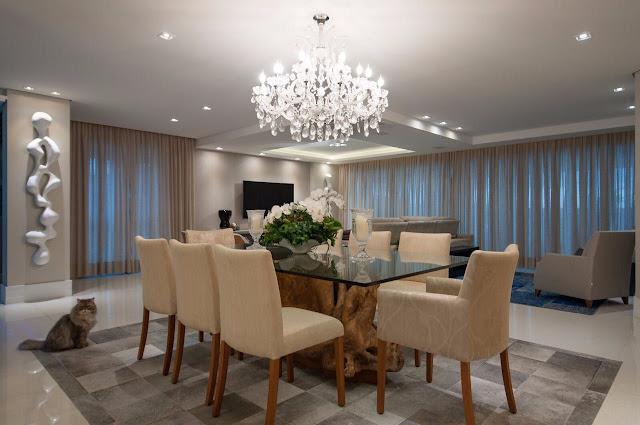 lustre-cristal-classico-sala-jantar-moderna