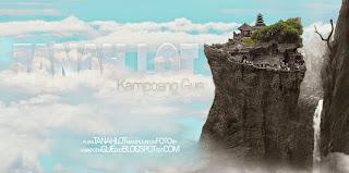 Bali - Arsitektur Agung Diatas Bebatuan Tanah Lot
