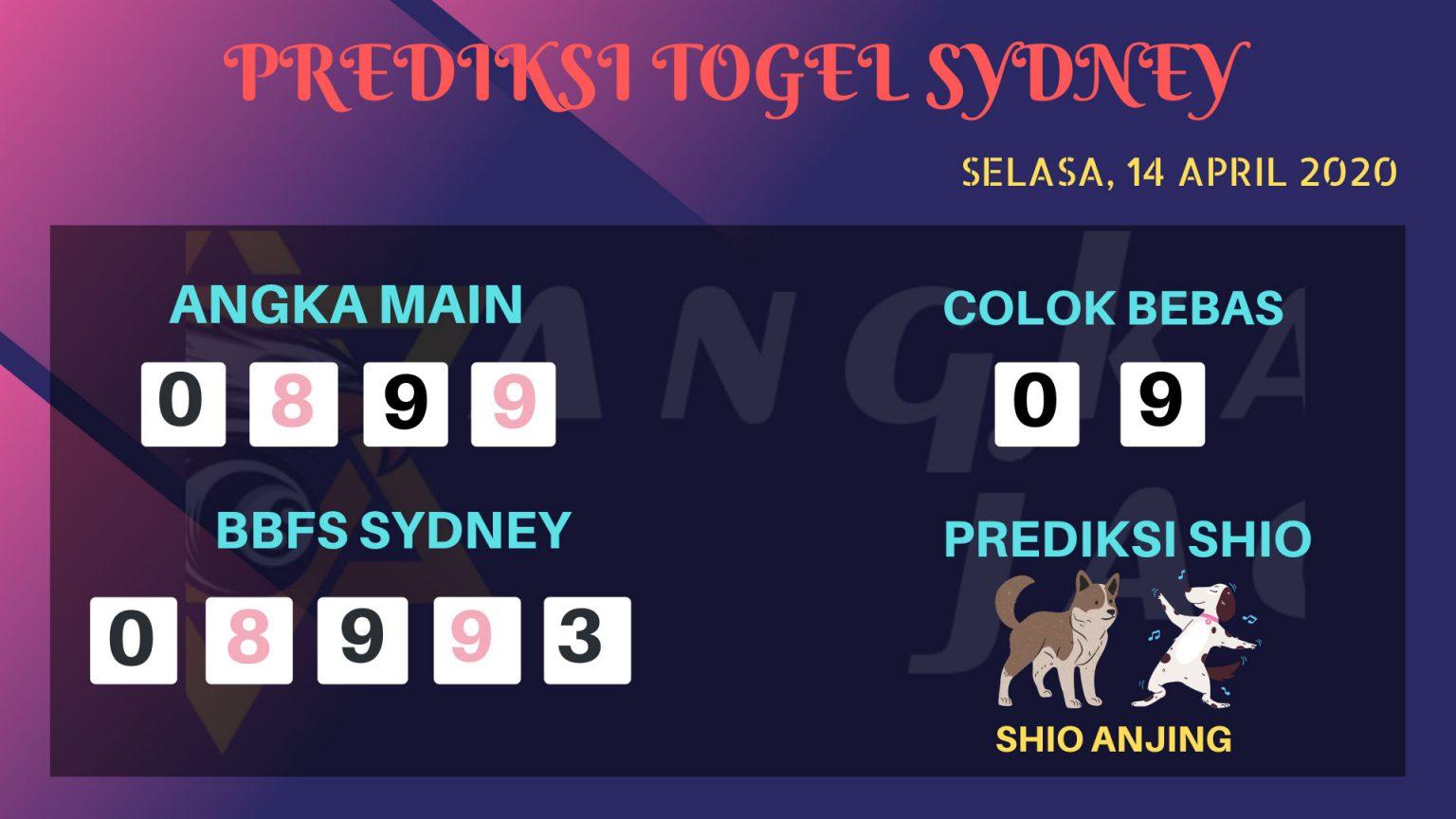 Prediksi Sidney Selasa 14 April 2020 - Prediksi Angka Sidney