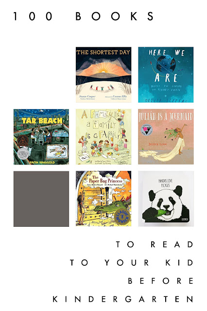 101 of the Best Books to Read to your Kids Before Kindergarten