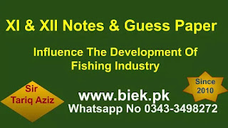 Influence The Development Of Fishing Industry