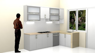 Kitchen Set Plus Anti Rayap Semarang