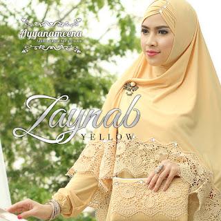 Ayyanameena Zaynab Yellow