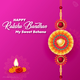 Happy Raksha Bandhan wishes for Sister, Happy Raksha Bandhan my sweet behana