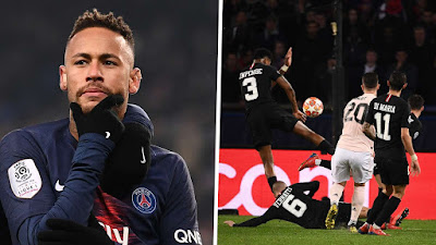 Neymar React To Penalty Given to Man Utd