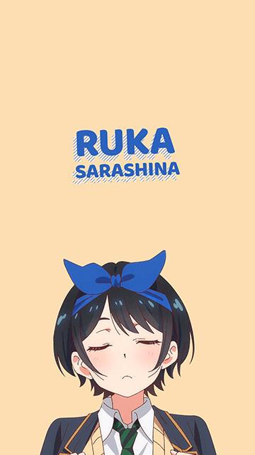 Ruka Sarashina - Kanojo Okarishimasu Wallpaper