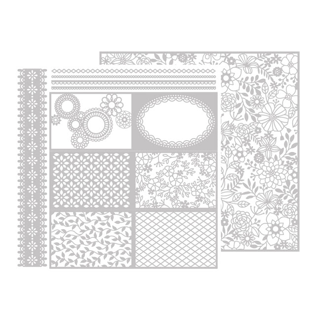 Delightfully Detailed Laser Cut Paper Stampin Up