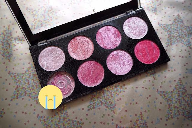 Blush palette