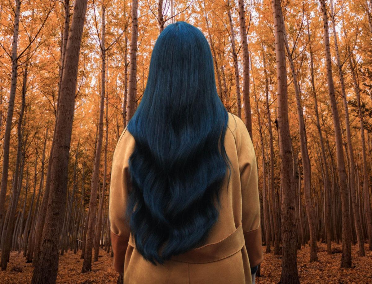 Jen Lou Meredith - Blue hair