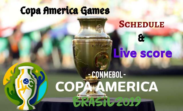 Copa America Games | Copa America Schedule | Copa America Live score