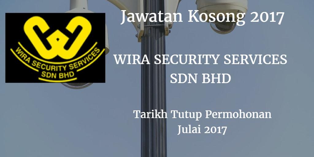 Jawatan Kosong Wira Security Services Sdn Bhd Julai 2017