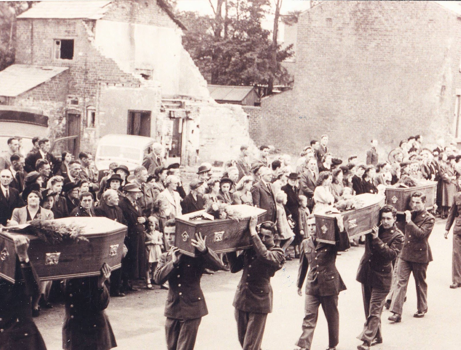 World War II funeral