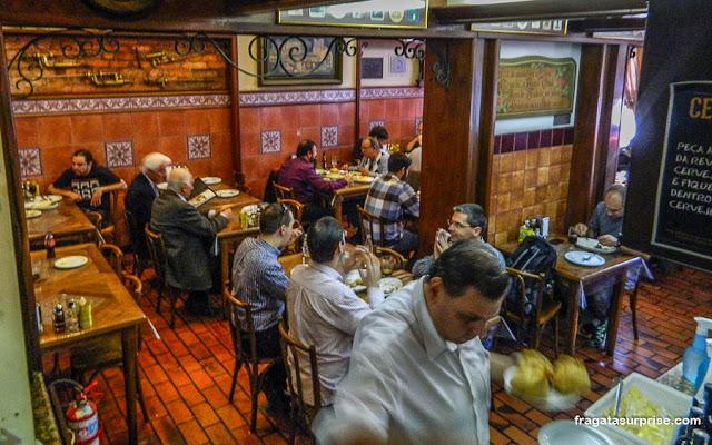 Restaurante Gambrinus - Mercado Público de Porto Alegre - RS
